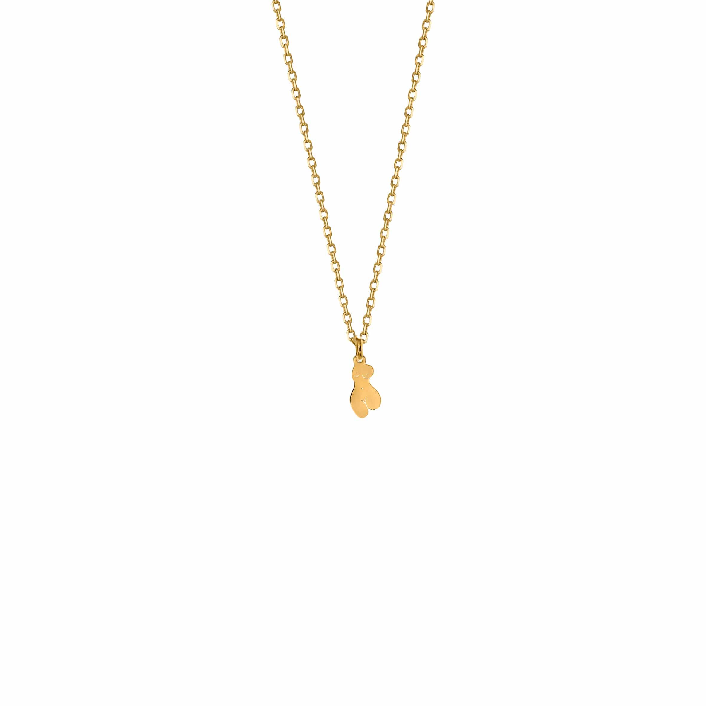 Mini Necklace Woman Gold