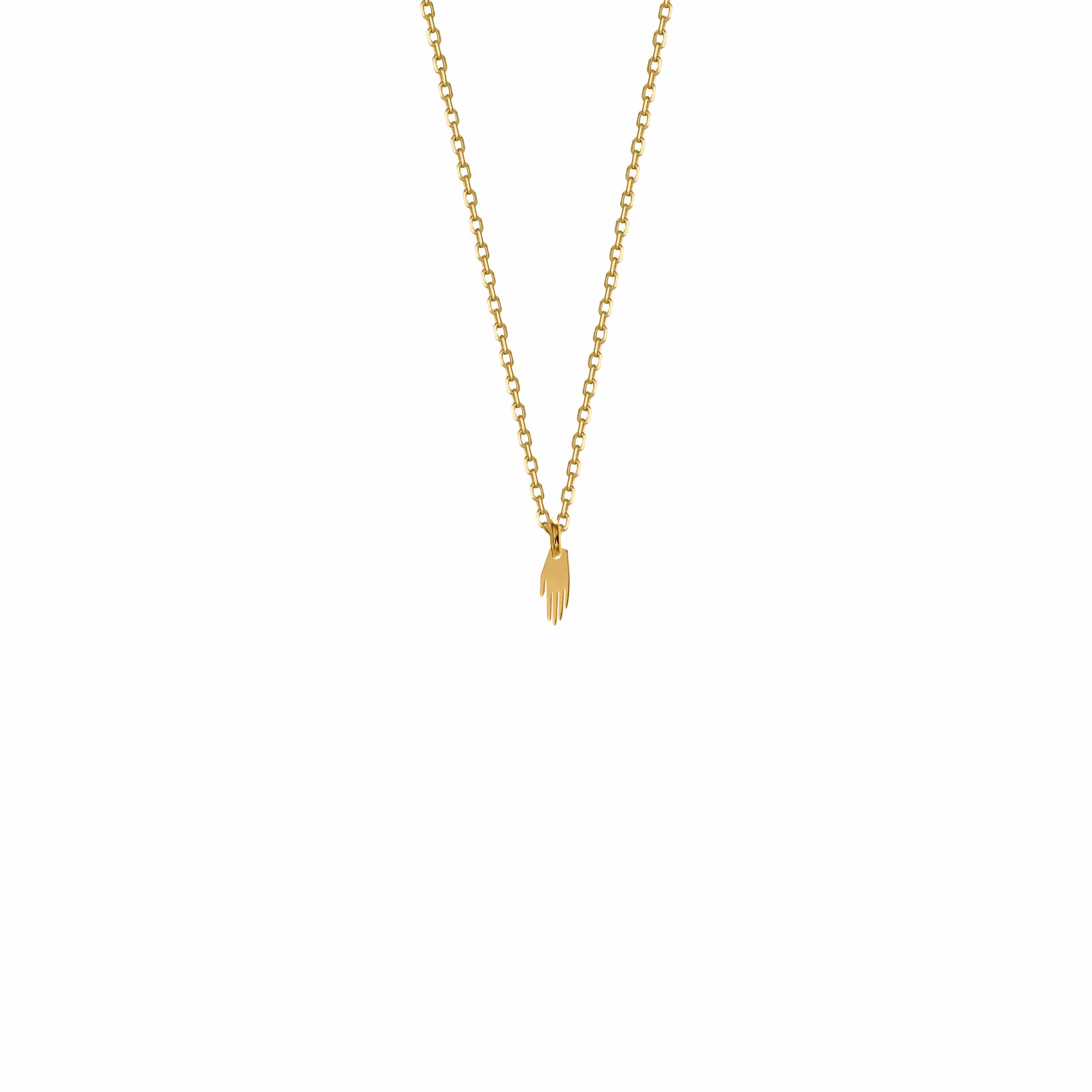 Mini Necklace Hand Gold