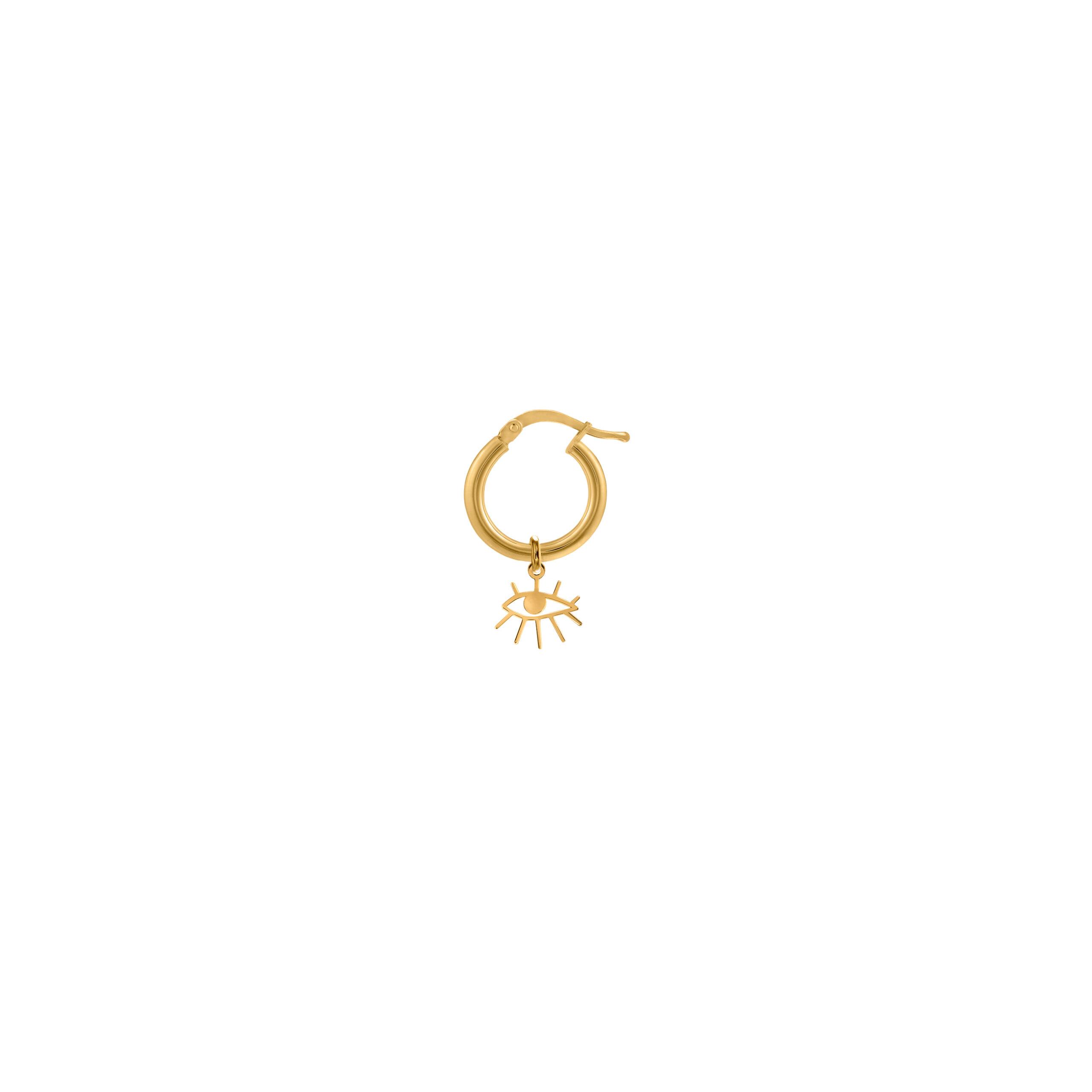 Mini Circle Eye Gold