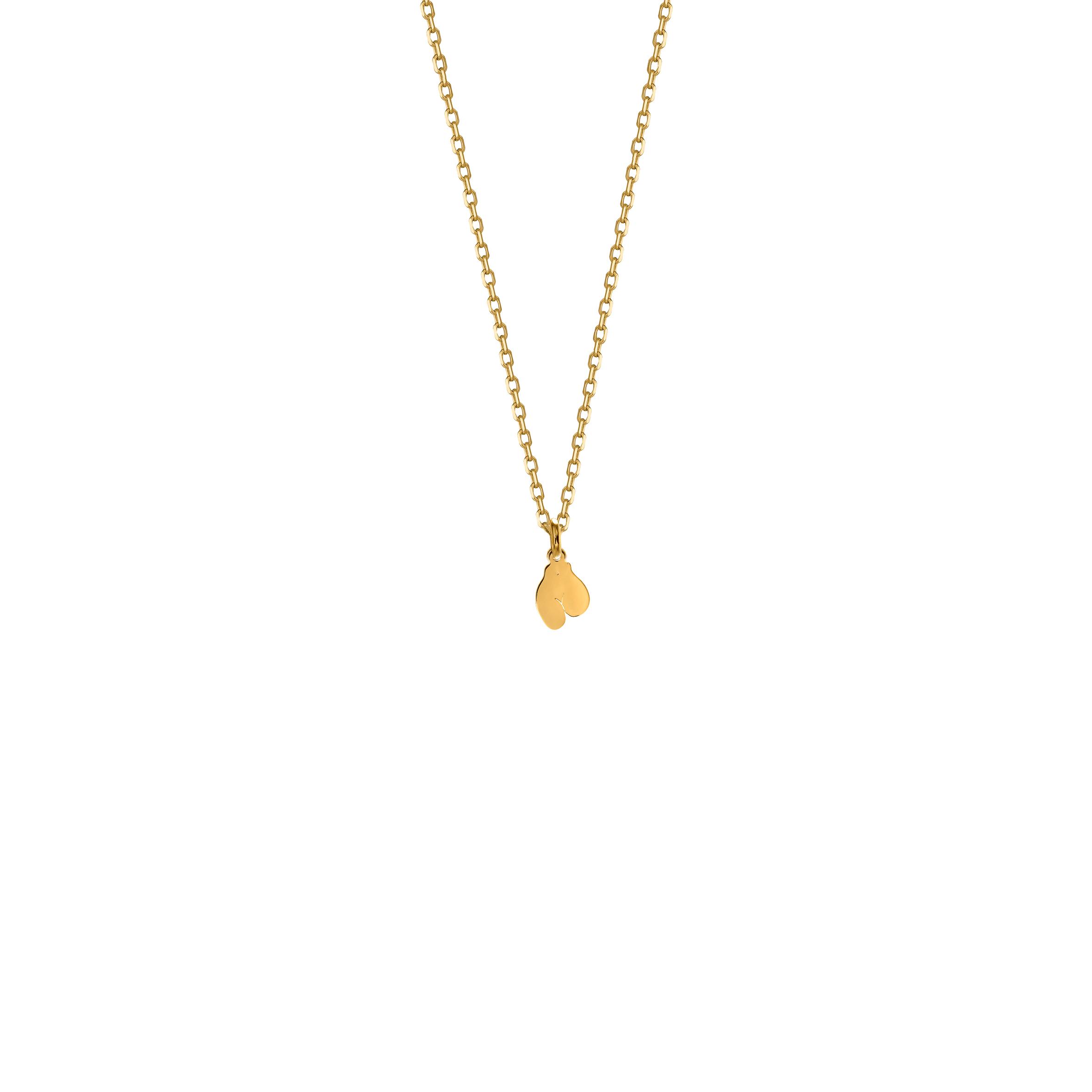 Mini Necklace Feminin 1 Gold