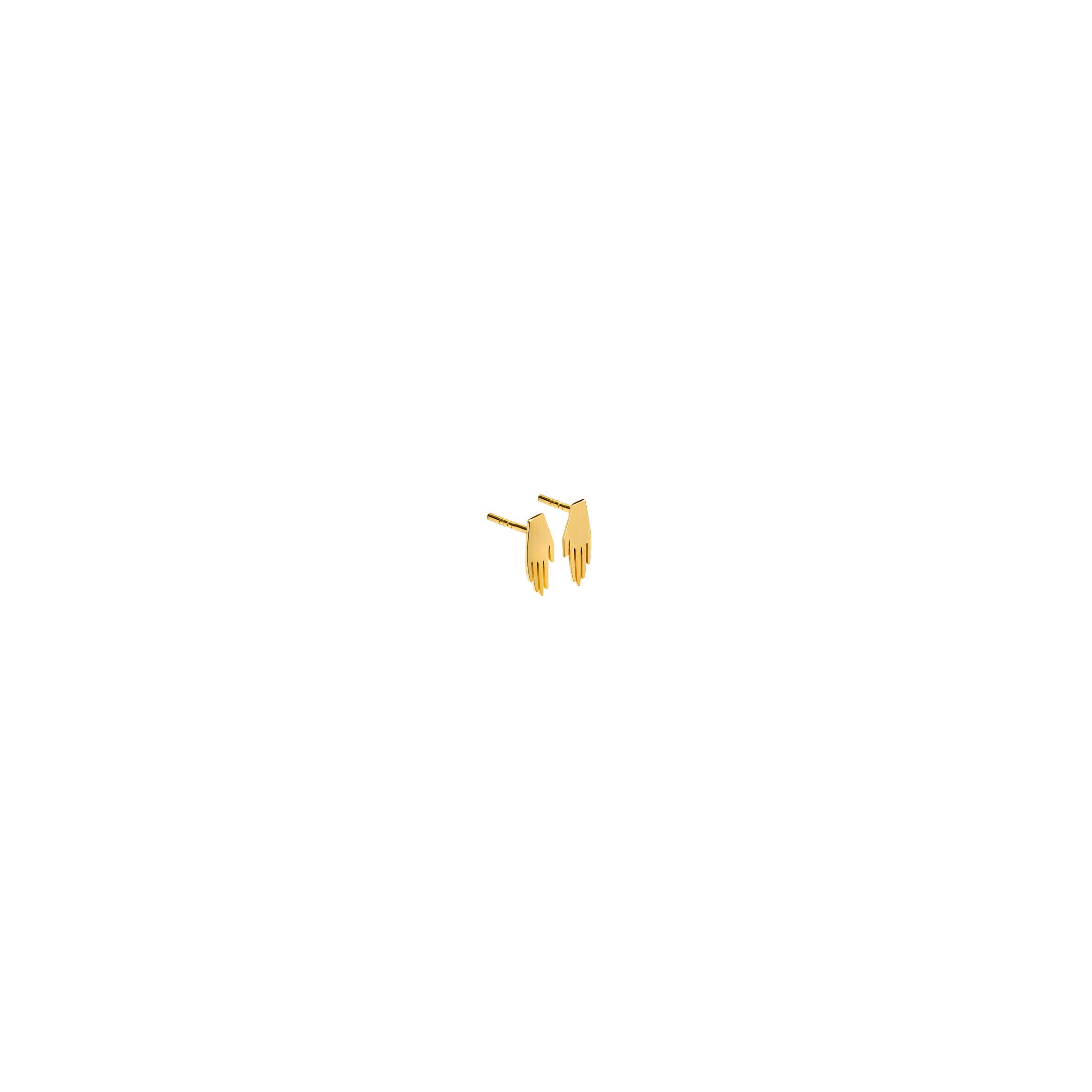 mini KOPI earrings – hand